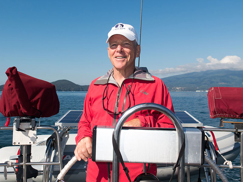 Marco Coda, Sail Canada Instructor Evaluator