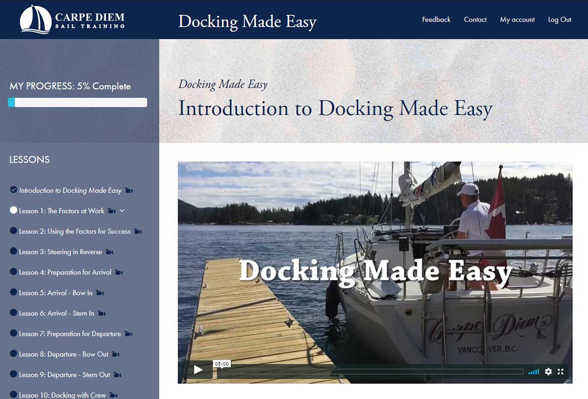 Docking Made Easy Course Page